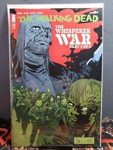 THE WALKING DEAD #159 WHISPERER WAR 3 OF 6 CHARLIE ADLARD COVER!