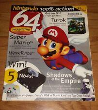 Nintendo 64 video game magazine FIRST EDITION No.1 Mario