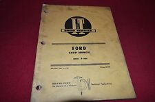 Ford 8000 Tractor I&T Shop Manual BVPA