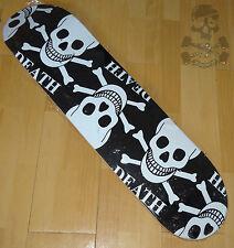 "DEATH SKATEBOARDS - Multi Skulls - Skateboard Deck - 8.0"" wide"
