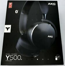 Akg by Harman Y500 Wireless Bluetooth On-Ear Headphones Excellent Condition