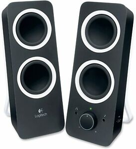 Logitech Z200 10W Multimedia Speakers, Pair - Black NEW FREE SHIPPING