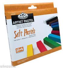 24 Weiche Pastelle Künstler Set Premium Pigment Farben Quadrat Volle Länge