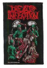 DEAD INFECTION woven patch SURGICAL DISEMBOWELMENT Aufnäher ♫ Grindcore ♪ Poland