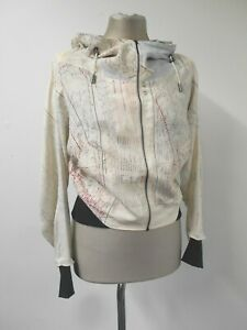 New Christopher Raeburn map jacket 100% reclaimed silk made in England S UK10