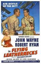 FLYING LEATHERNECKS Movie POSTER 27x40 C John Wayne Robert Ryan Janis Carter Don