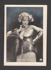Marlene Dietrich Movie Film Star Vintage Cigarette Card #524