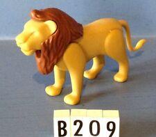 (B209) playmobil lion, zoo, savane