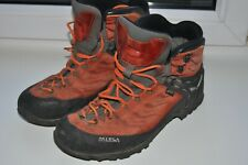 Mens Salewa  Mountaineering Boots UK10/29 cm  Goretex Crampon Flex Orange