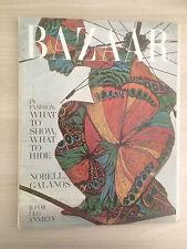 Magazine Harper's BAZAAR MAY 1967 Collection Vintage Fashion Mode