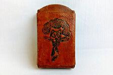 original,leather case cigarettes,cigarette case,box,storage,100%cowhide leather