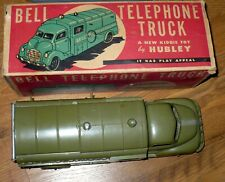 VINTAGE HUBLEY BELL TELEPHONE TRUCK No.504 / 1950's DIECAST FORD TOY TRUCK / MIB