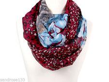 Écharpes et châles bleu avec des motifs Géométrique polyester pour femme