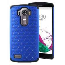 Blue Mobile Phone Fitted Cases/Skins for LG