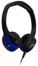 KitSound Arcade Bluetooth Headphones With Mic Blue