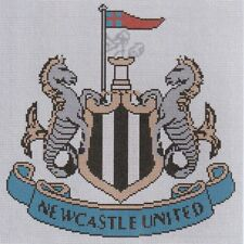 Newcastle United Football Club Counted Cross Stitch Kit