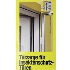 Windhager Alu Rahmen für Insektenschutz Tür Fliegengitter 125x245cm braun 03887