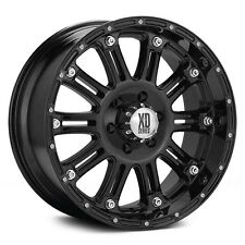 "XD Hoss Black 20"" Wheels W/ 35x12.50x20 Nitto Tires"