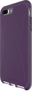 NEW Tech21 Evo Tactical VIOLET Slim Phone Case for Apple iPhone 7 Plus