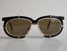 Cazal Vintage Eyeglasses - New Old Stock - Model 871 -Col.721 Gold & Blac Amber