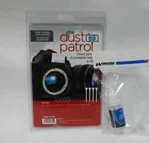 Dust Patrol Alpha Sensor Cleaning Swabs 17mm* 4x swabs *1x 15ml fluid*