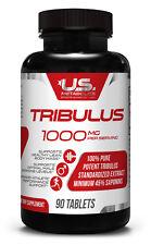US Metabolics Tribulus 1000 mg 90 Tab 45 Percent Saponins