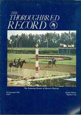 1983 Thoroughbred Record Magazine: Historic Hialeah/Marlboro Cup/Florida Edition