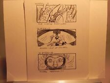 JAWS THE REVENGE 1987  ORIGINAL MOVIE HAND DRAWN STORY BOARD SC#93B8