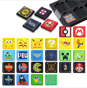 Game Card Case Holder Storage Box Carry Cover For Nintendo Switch / Switch Lite