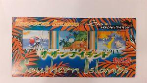 Pokemon 1998 Japanese Promo Southern Islands   Tropical Island Sea