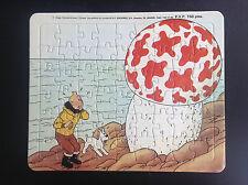 Puzzle Tintin Lombard 1985 L'étoile mystérieuse TRES BON ETAT