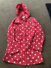 Peter Storm Dotty Pink Rain Coat - Age 9-10yrs