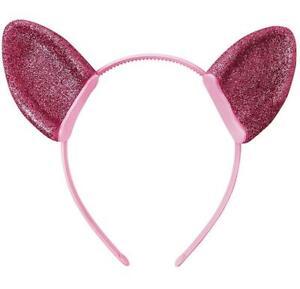 Pinkie Pie Ears My Little Pony Movie Fancy Dress Up Halloween Costume Accessory