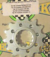 Pro-tek Yamaha Front Sprocket 520 Pitch 14T 15T 16T 17T 1989 1990 1991 FJ1200C/A
