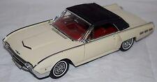 1/24 Danbury Mint 1962 Ford Thunderbird WHITE Die-Cast Precision Model 25 '62