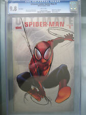 Ultimate Comics Spider-Man (2009) #1 Foil Edition Variant CGC 9.8 White Pages