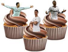 Tarjeta de Oblea de Ronaldo mezcla Cake Toppers Decoraciones Novedad Fútbol Real Madrid