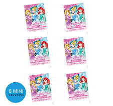 Disney Princess Party Supplies Favours 6 MINI COLOURING BOOKS 20 Pages Each