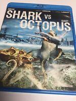 Mega Shark vs.Giant Octopus (Blu-ray, 2010) Lorenzo Lamas,Not a Scratch! USA!