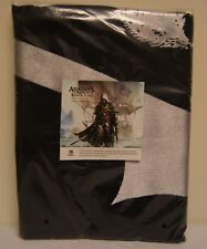 New! Assassin's Creed IV Limited Edition Large Black Cotton Pirate Flag 3' x 5'