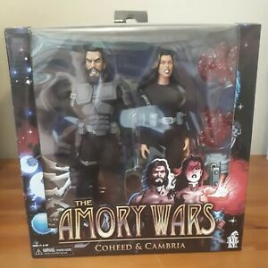 COHEED AND CAMBRIA AMORY WARS NECA ACTION FIGURES EVIL INK LTD HTF OOP REEL TOYS