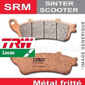 Plaquettes de frein Arrière TRW Lucas MCB 744 SRM Piaggio 125 Beverly M28 02-09