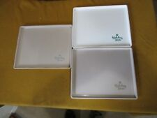 "HOLIDAY INN VINTAGE PLASTIC TRAYS  12.75"" BY 10.25 USED BUT CLEAN FAST SHIPPING!"