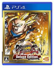 NEW PS4 Dragon Ball Fighter Z Deluxe Edition JAPAN Sony PlayStation 4 import
