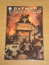 BATMAN LEAGUE OF BATMEN BOOK 1 DC COMICS DOUG MOENCH GN