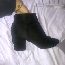 Womens Heeled Chelsea Boots Ankle Size 6.5