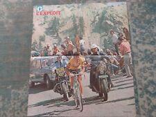 wielerposter miroir du cyclisme l'exploit  thevenet peugeot