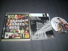 GTA 4 Grand Theft Auto IV Sony PS3 Playstation 3 FR Complet