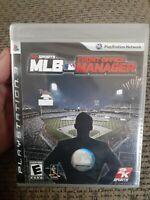 2KSports MLB Front Office Manager (PlayStation 3, 2009) Baseball Strategy NIP
