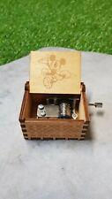 Boîte à musique en bois Wooden Music Box Mickey Mouse NEUF / EMBALLE